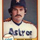 1981 Fleer 69 Bruce Bochy