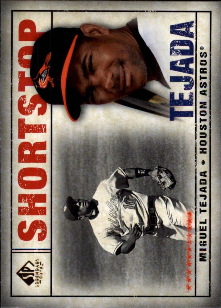 2008 SP Legendary Cuts 43 Miguel Tejada
