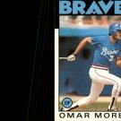 1984 Topps 16 Omar Moreno