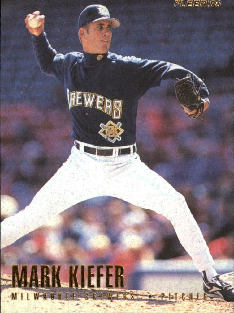 1996 Fleer 149 Mark Kiefer