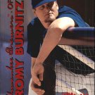 1999 Fleer Tradition Warning Track #25 Jeromy Burnitz