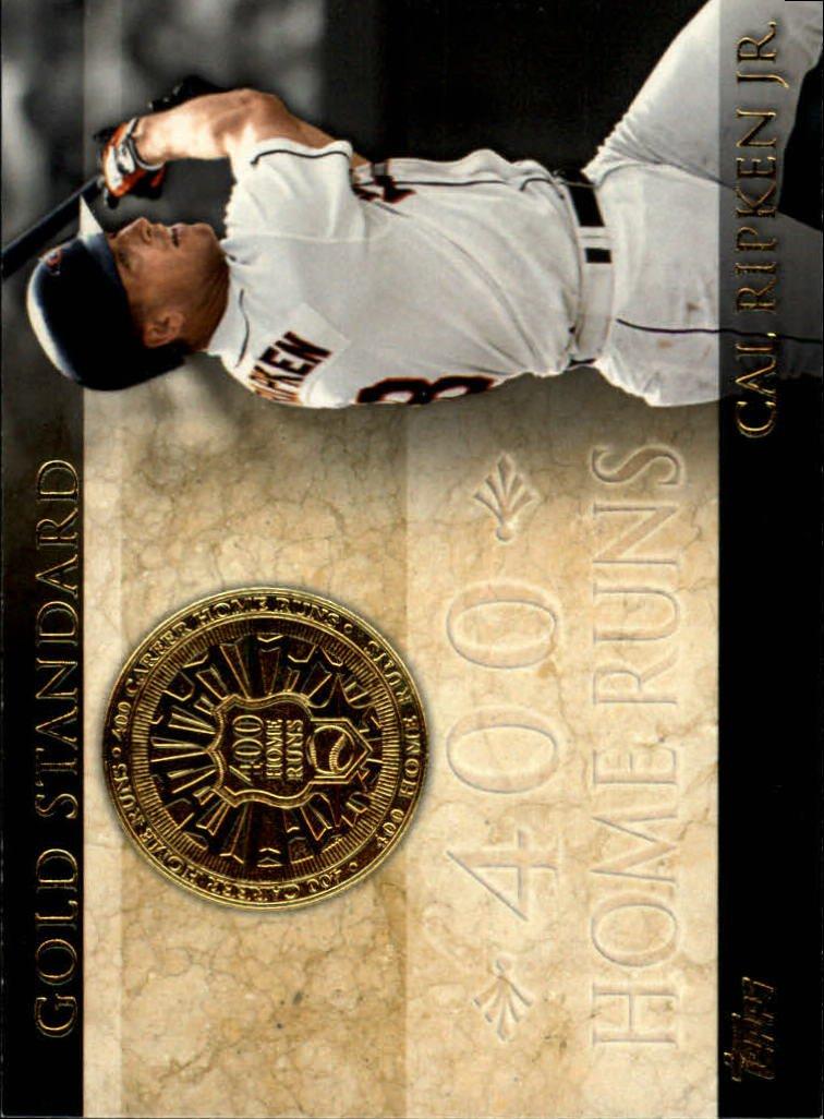 2012 Topps Gold Standard #GS29 Cal Ripken Jr.