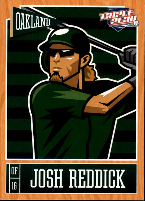 2013 Triple Play 61 Josh Reddick