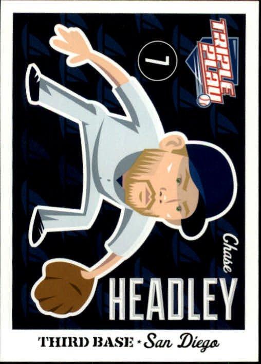 2012 Triple Play 68 Chase Headley