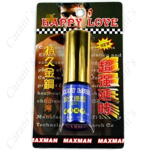 10ml Happy Love Non-Edible Non-toxic Prolong Delay Spray for Male FNG-11236