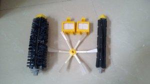 bristle brush flexible beater side brush for irobot roomba 700 cleaner