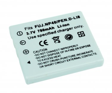 Replacement  battery for FujiFilm NP-40 780mAh