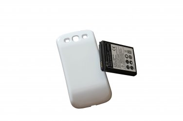 4300mAh Battery Back Door Cover Replacement for Samsung Galaxy S3 i535