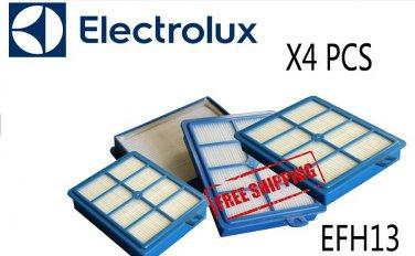 Free Shipping 4 pcs HEPA FILTER ELECTROLUX ULTRAACTIVE ZUA3820P ZUA3830PT ZUA3860P ZUA3861P GENERIC