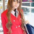 TIGER×DRAGON!Toradora! Taiga Aisaka brown curly cosplay long wig