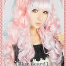 Lolita Princess Beauty Long Curly with Two Ponytails Cosplay Wig