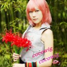Nabari no Ou Shimizu Raikou Pink Short Cosplay Party Hair Wig