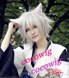 Inu x Boku SS Miketsukami Soushi Cosplay Costume grey Wig