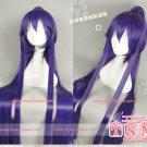 Fashion Animation vocaloid miku gakupo Purple Cosplay Wig Clip Ponytai