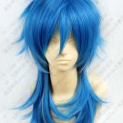 Dramatical Murder DMMd AOBA Long Blue Mix Cosplay Party Wig