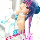 Panty & Stocking Garterbelt Cosplay Wig Long Straight 100cm Female mix Colors Wigs