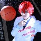 New Kuroko's Basketball Kuroko No Basket Akashi Seijyuurou Red Short Cosplay Wig