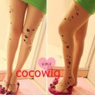 Woman Sexy Fashionable love hearts Pantyhose & Tights Leggings Tattoo Stocking