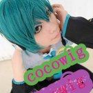 dark green hot sell short cosplay party hair wig