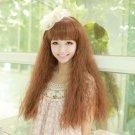 Japanese Harajuku Kawaii 80cm Long Rhapsody Curyl Fluffy Christmas Cosplay Wig