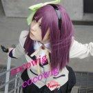 Angel Beats! Nakamura Yuri Rose Purple Cosplay Party Hair Wig