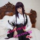 Inu x Boku SS Shirakiin Ririchiyo Long Straight Anime Cosplay wig 1M