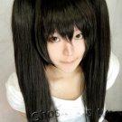 yagyu kyubei/D.Gray-man Lenalee Lee 60cm 2*clips  black cosplay wig