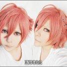 Brothers Conflict AsahinaFuto short orange cosplay wig