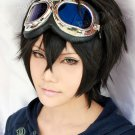 Karneval GAREKI Short Black Cosplay wig  Free shipping