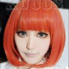 Uta no Prince sama Haruka Nanami Cosplay wig orange and red costume