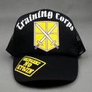Anime Attack on Titan training corps Mikasa Ackerman Cosplay Baseball Cap
