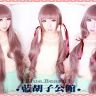 Fashion Japanese Harajuku Shibuya Long Curly Lolita Cosplay Party Wig 100CM