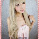 Axis powers APH Natalia Alfroskaya long 110cm tea brown cosplay wig