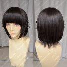 Uiharu kazari natural brown short ears tilting cos wig