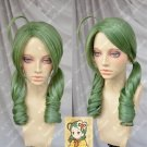 Rozen Maiden Kanaria Cosplay wig cosume Green colour