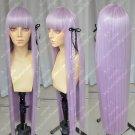 The round dance Kirigiri Kiyouko 100cm hair braided hemp flowers send ribbon cos wig
