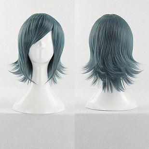 AKB0048 Sae Miyazawa Short Blue Mix Cosplay Anime Costume Wig