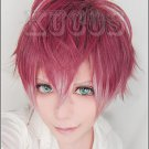 New!hot!DIABOLIK LOVERS Sakamaki Ayato gradient mix color the wig is really cool!
