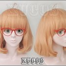 Strongly recommended!kyoukai no kanata Kuriyama Mirai gradient mix color  the Perfect cos wig!