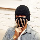 NEW  winter thickened black Rome cap  Knight cap warm wool masks cap