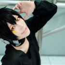 New!Hot!Phantom project Kokonose Haruka black Cosplay wig + free shipping+ Free Wig Cap