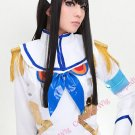 New!Hot! Kill la Kill Kiryuuin Satsuki black long Cosplay wig + free shipping+ Free Wig Cap