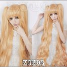 New!Rozen Maiden Kirakishou golden 150cm Ponytails Styled Cosplay wig+ Free Wig Cap