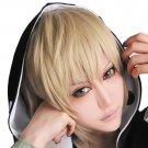 New!Hot!Phantom project Kano Syuuya golden flax Cosplay wig + free shipping+ Free Wig Cap