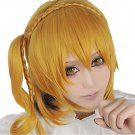 New!Hot!Phantom project Kisaragi Momo gold black Cosplay wig + free shipping+ Free Wig Cap