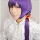 Kamigami no Itazura Kusanagi Yui purple 70cm Cosplay wig+free shipping+Free Wig Cap