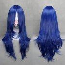Shugo Chara Fujisaki Nagihiko gradient blue 65CM Cosplay wig+free shipping