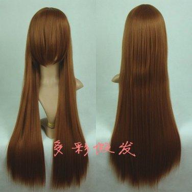 Rozen Maiden Jade Stern Suiseiseki light brown 80cm Cosplay wig + free shipping+ Free Wig Cap