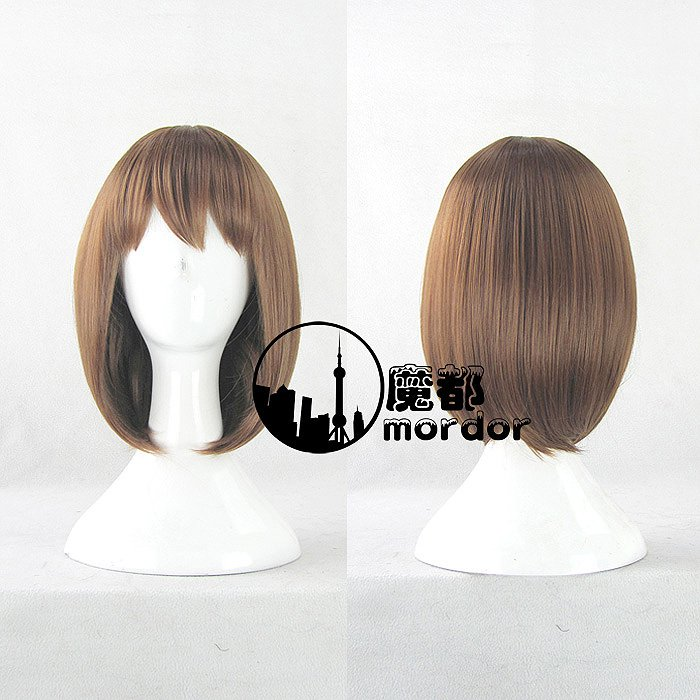 Rozen Maiden Sou Sei Seki brown Cosplay wig + free shipping+ Free Wig Cap