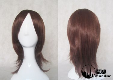 NANA Komatsu Nana brown 45cm Cosplay wig+free shipping+Free Wig Cap